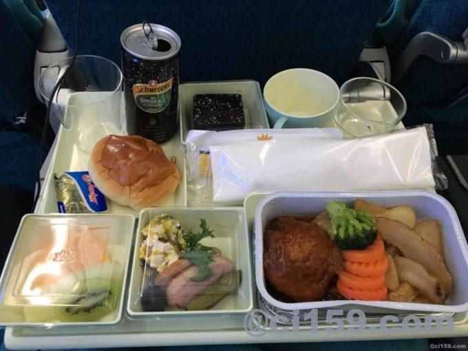 ベトナム航空VN0321の機内食
