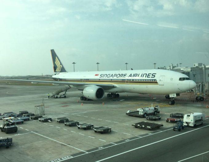 シンガポール航空ボーイング787-10