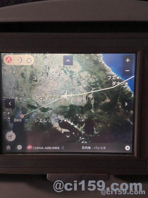 ci835のフライトマップ