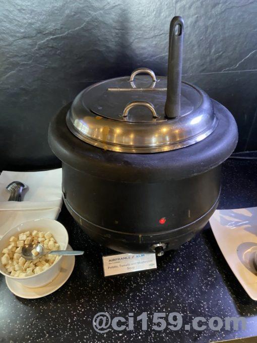 ポテト&トマト&マッシュルームスープ