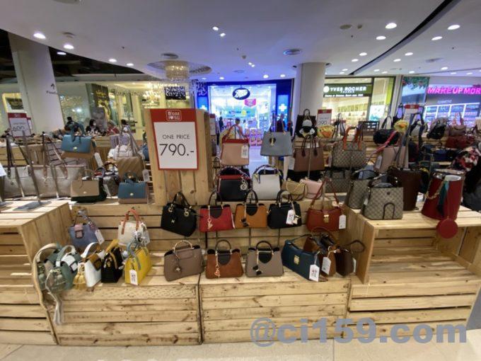 セントラルフィスティバルのショッピングフロア