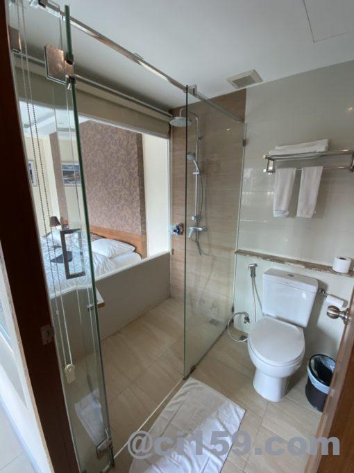 247 Boutique Hotelのバスルーム