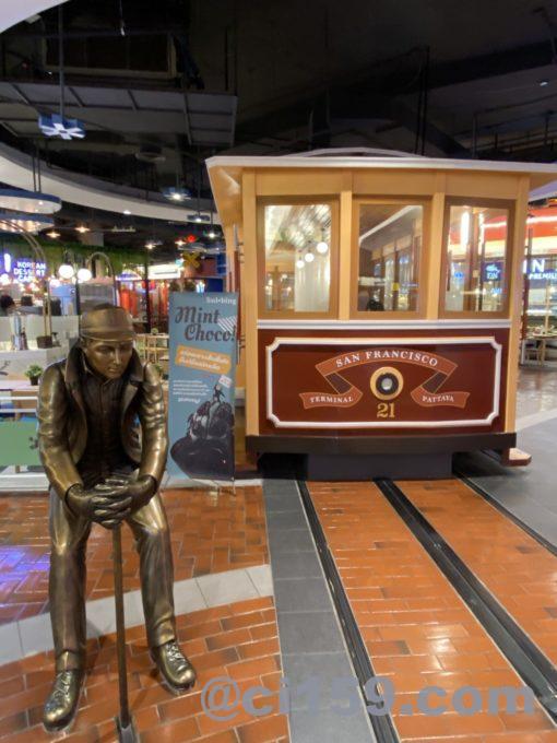 TERMINAL 21 PATTAYAの路面電車