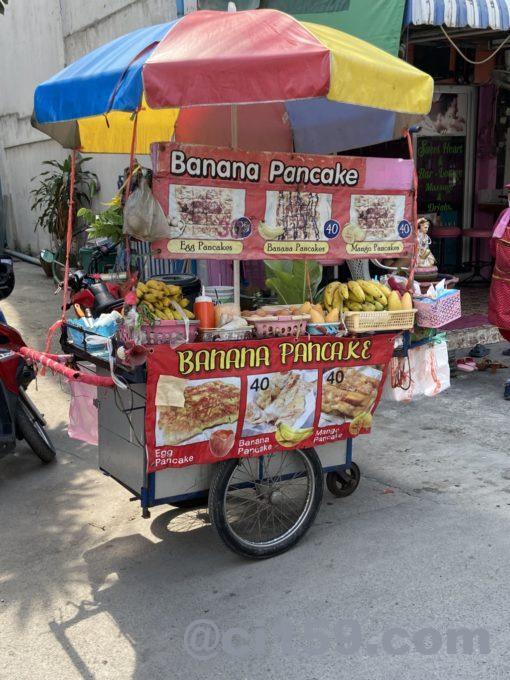 バナナパンケーキ屋台