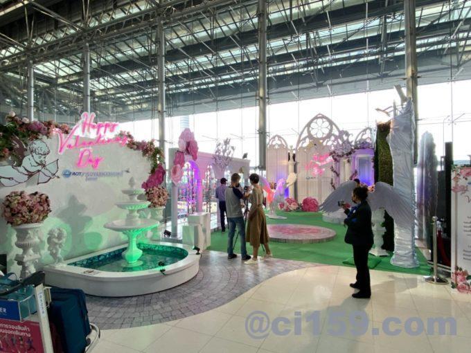 スワンナプーム空港の撮影スポット
