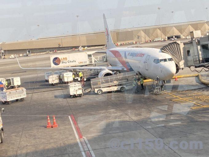 マレーシア航空B737-800