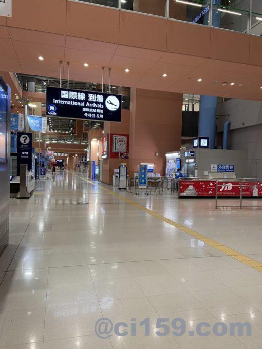 関西空港国際線到着フロア
