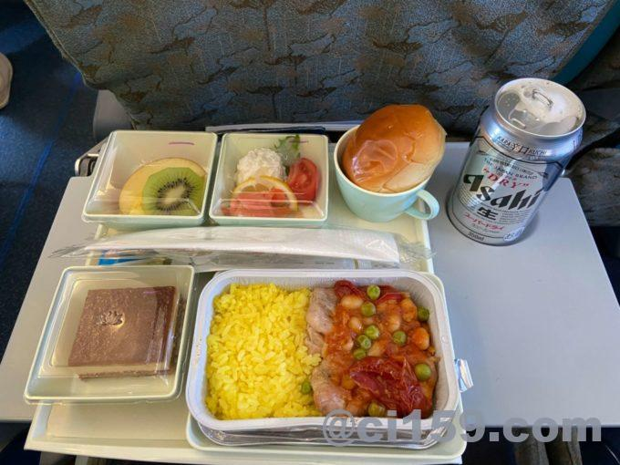 ベトナム航空VN337の機内食
