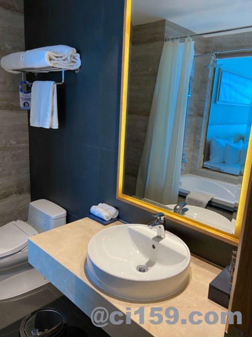 SALA DANANG BEACH HOTELの洗面台