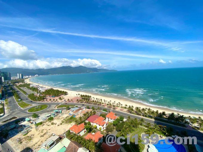 SALA DANANG BEACH HOTELからの眺め