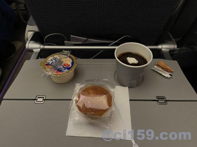マレーシア航空MH53の軽食