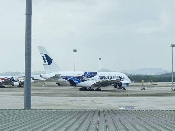 マレーシア航空エアバスA380
