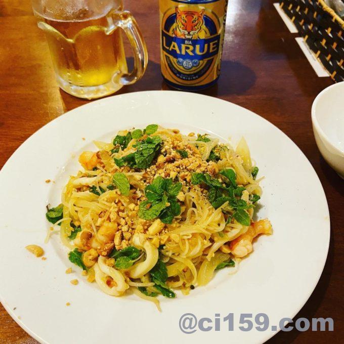 Tamarind Tree Restaurant Da Nangのライスフライドヌードル