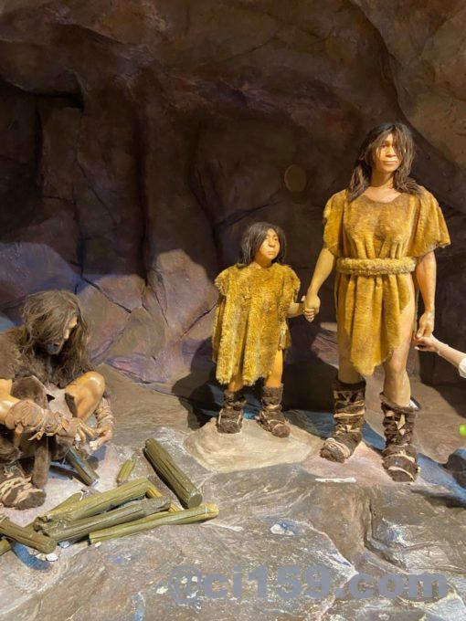 石器時代の人々