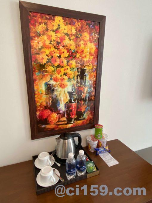 バルコナホテル客室に飾っている絵画