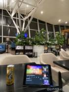 ハノイ空港SONG HONG LOUNGEの風景