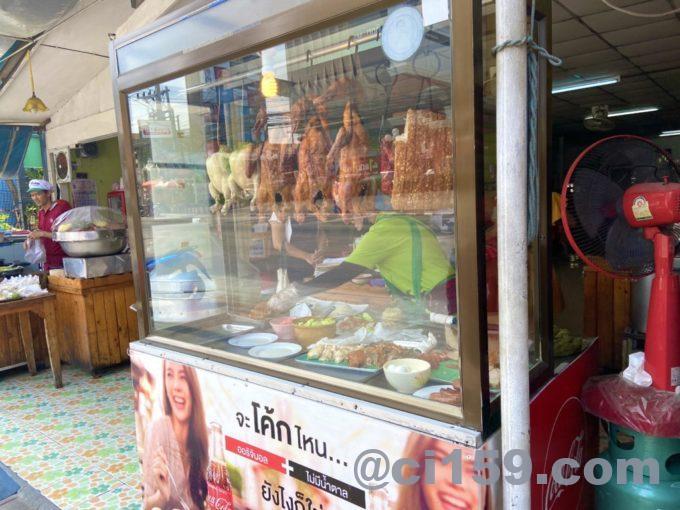 カオマンガイのレストラン