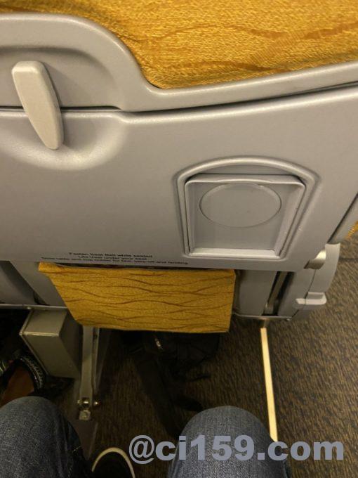 ノックスクートXW112の座席