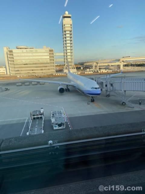 関西空港に駐機中のチャイナエアライン