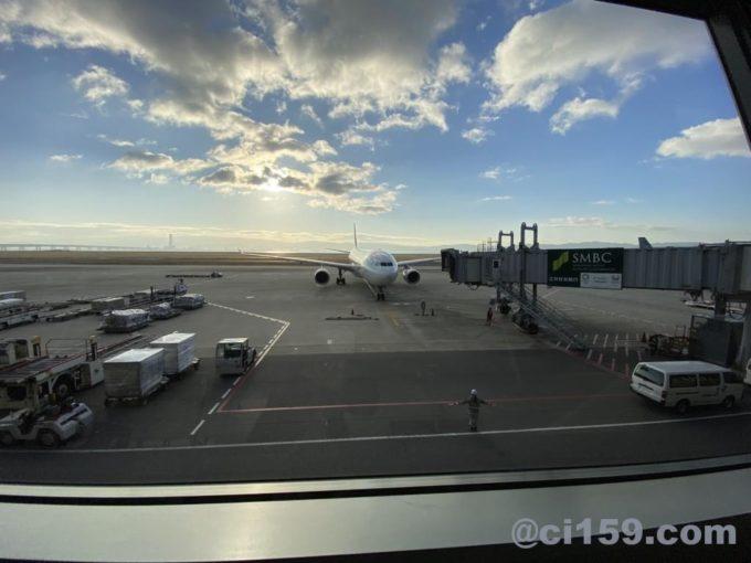 関西空港から景色