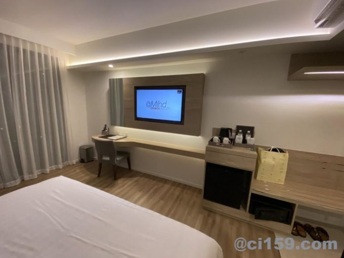 Hotel Amber Pattayaの室内