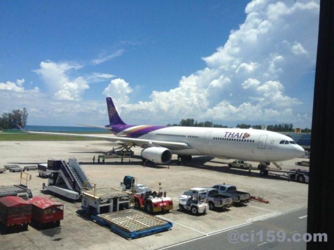 タイ国際航空のエアバスA330