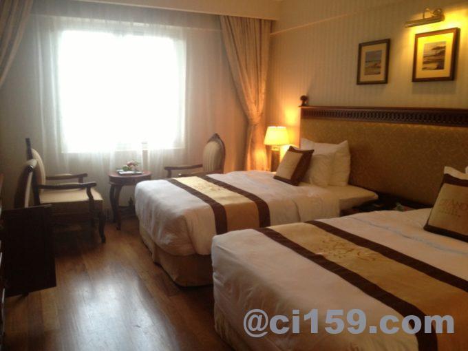 グランドホテルサイゴンの室内