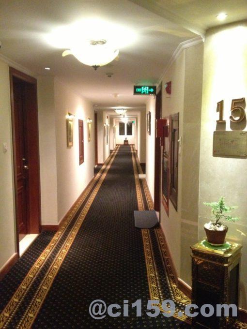 グランドホテルサイゴンの通路