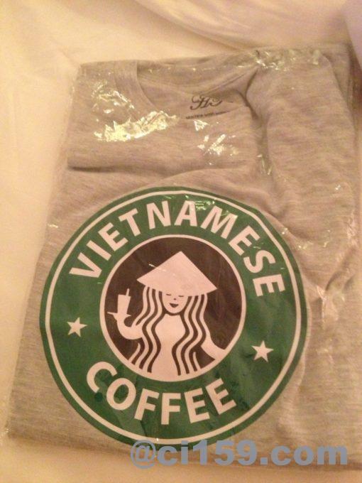ベトナムコーヒーシャツ