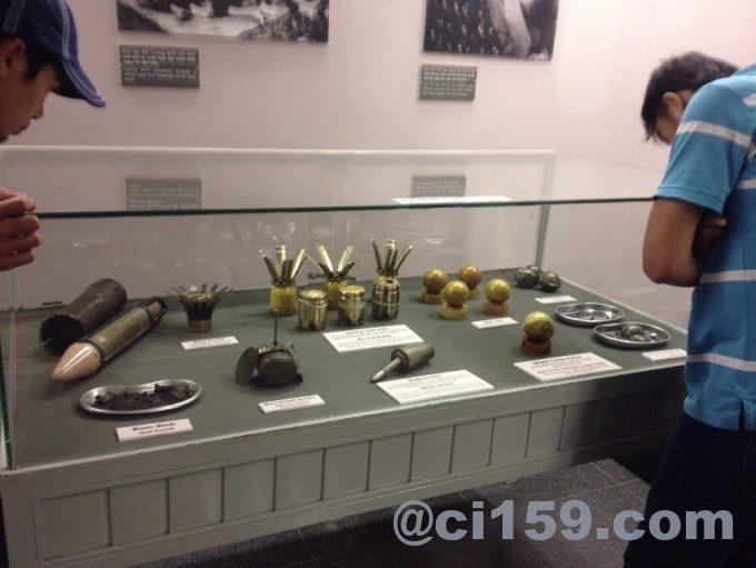ベトナム戦争の展示