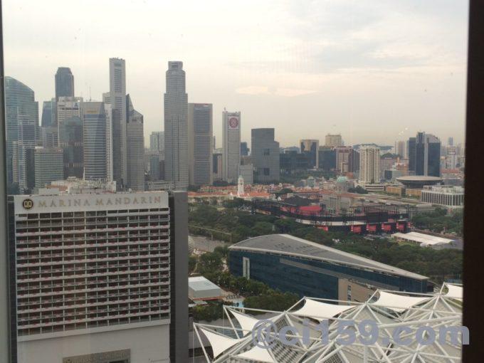 コンラッドセンテニアルシンガポールからの景色