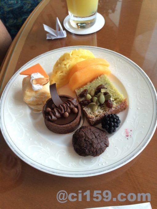 シャングリラホテルの軽食