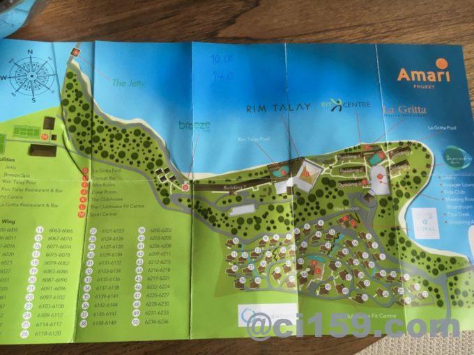 アマリプーケットの地図