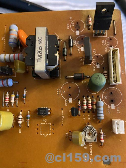 音源モジュールTX802の基板