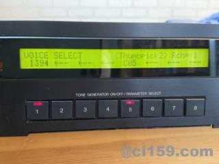 音源モジュールTX802