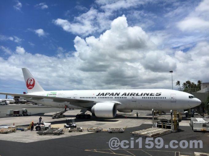 日本航空777-300