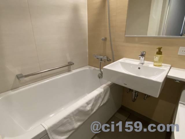 JR九州ステーションホテル小倉の浴槽