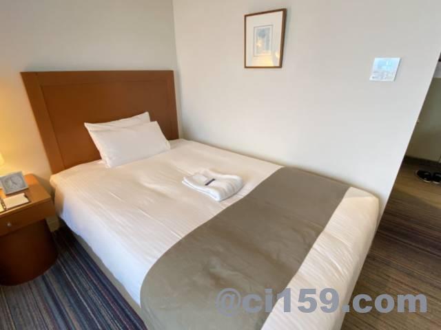 JR九州ステーションホテル小倉のベッド
