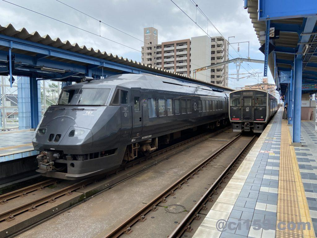宮崎駅の風景