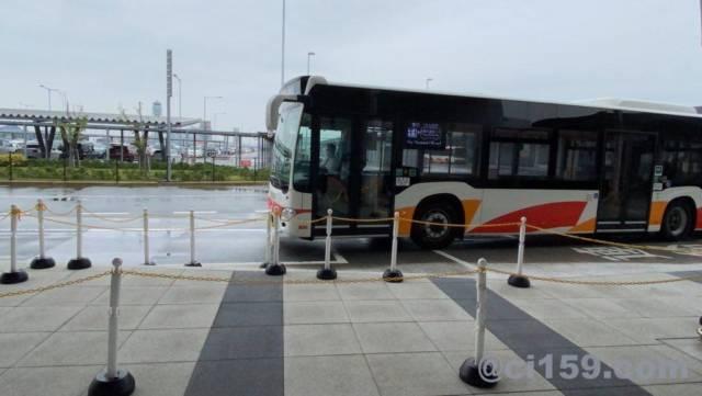 関西空港のシャトルバス