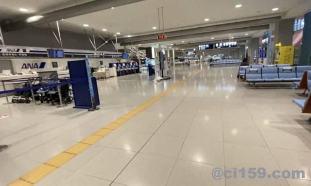 関西空港の国内線フロア
