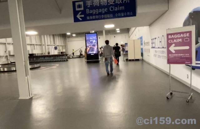関西空港第二ターミナル手荷物受取所