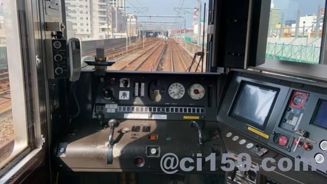 北陸本線521系の運転台