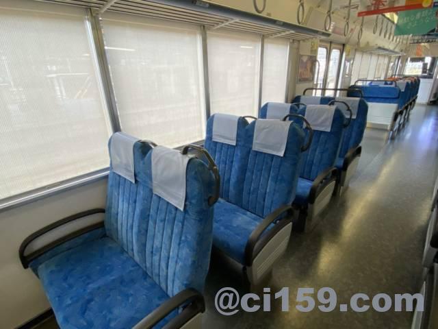 JR東海313系の車内