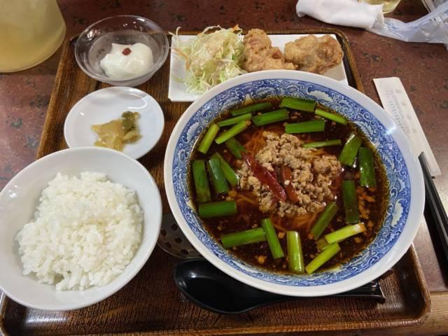 台湾ラーメン定食