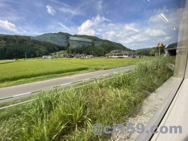 篠ノ井線からの車窓