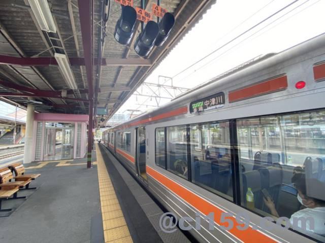 中津川行き313系