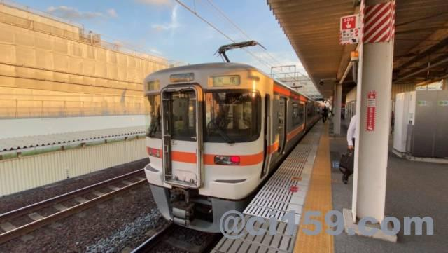 東海道本線313系