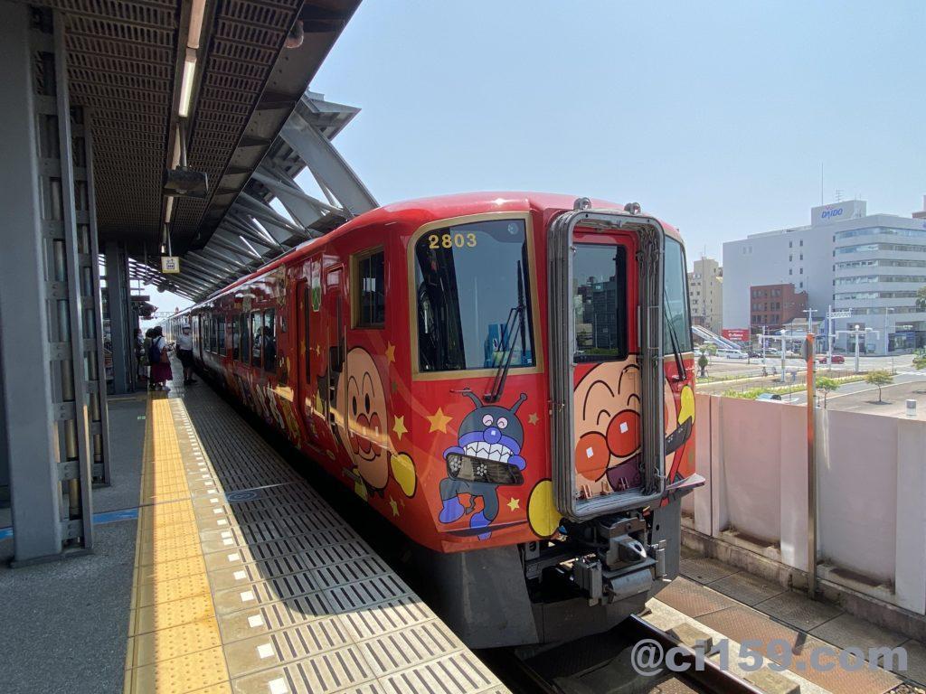 特急南風2700系アンパンマン列車