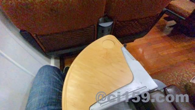 883系特急ソニック1号の座席設備